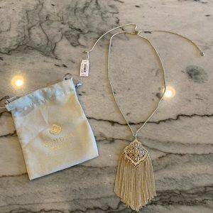 Jewelry - Kendra Scott Gold Kingston filigree necklace